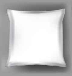 three-dimensional realistic 3d pillow vector image
