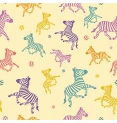 zebra seamless vector image
