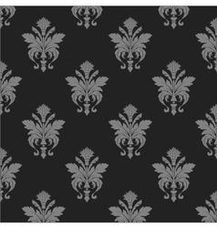 damask wallpaper seamless pattern vector image vector image