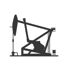 Oil pump icon Oil industry concept vector image vector image