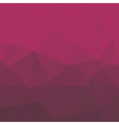geometric background with triangles and dots vector image