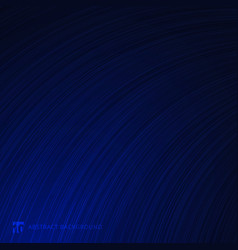 abstract curve lines texture blue gradient vector image
