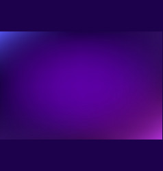 Abstract gradient empty blurred violet background vector