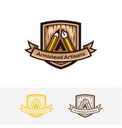 Artisans logo design vector