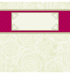 beige valentine background with many roses vector image