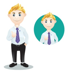 Character Work vector image