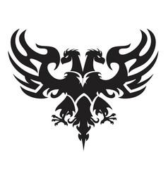 Double-headed eagle vector
