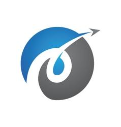 E Logo Template vector