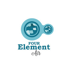 four element air vector image
