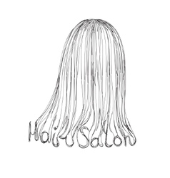 Hair Salon Poster vector
