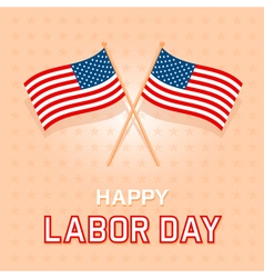 Labor Day Card 2 vector image