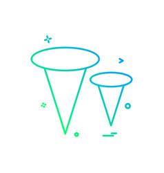nails nuts icon design vector image
