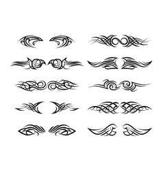 tattoo patterns vector image