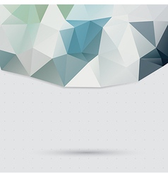 Triangle pattern background vector image