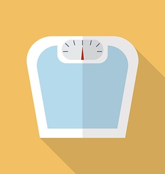 Weighting apparatus flat icon vector