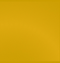 Yellow geometric halftone diagonal square pattern vector