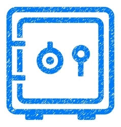 Banking Safe Grainy Texture Icon vector