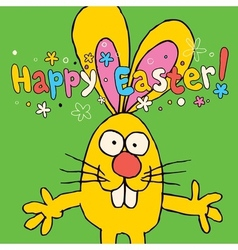 Happy Easter card 4 vector