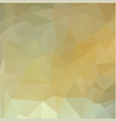 polygon background white gold vector image