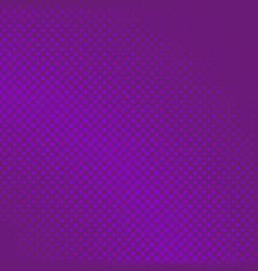 purple halftone diagonal square background vector image