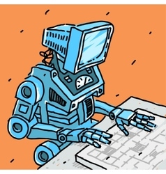 Robot and computer vector