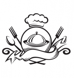 chef arms vector image
