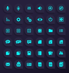 36 hi quality general any use icons - part 3 vector
