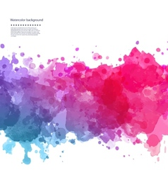 Beautiful Watercolor background vector
