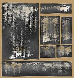 cardboard impressions vector image