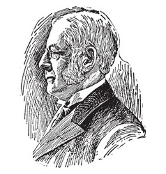 charles william eliot vintage vector image