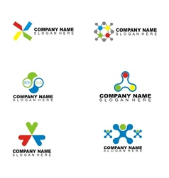 Company Name Design vector image