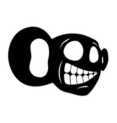 Face cartoon character vector