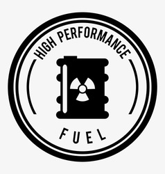 Fuel industry vector