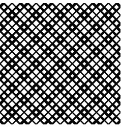 monochrome abstract seamless diagonal square vector image