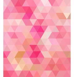 Pink Triangle Abstract Background vector image