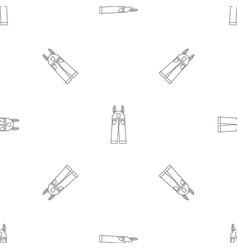 Worker pants pattern seamless vector