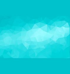 Polygon cyan background vector