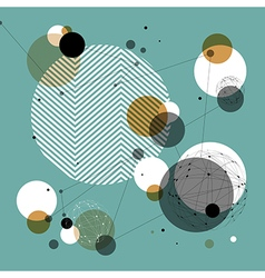 Abstract Technology Background Good for financial vector image vector image