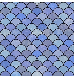 asian fish scales pattern seamless vector image vector image