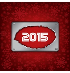 2015 new year celebrate card vector image