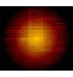 Abstract dark red background technical vector