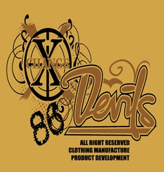Art of design with the models devil 86 vector