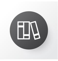 catalog icon symbol premium quality isolated vector image