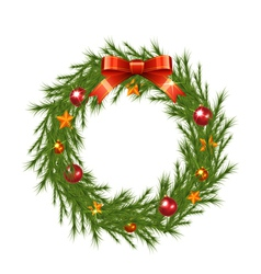 Christmas Wreath vector