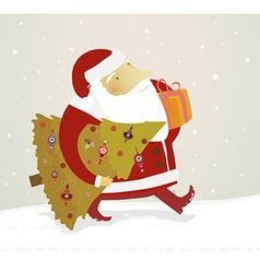 Father Christmas vector