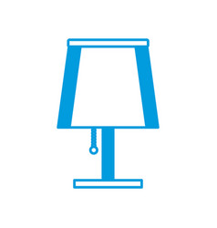 night light lamp vector image