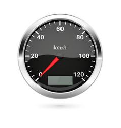 Speedometer 3d vector