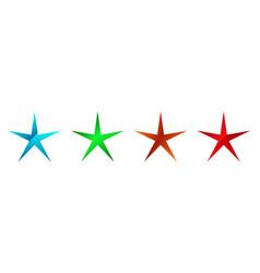 Star starburst sunburst icon symbol radial shape vector