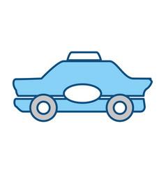 Taxi cab service vector