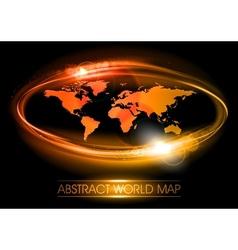 World abstract shine vector